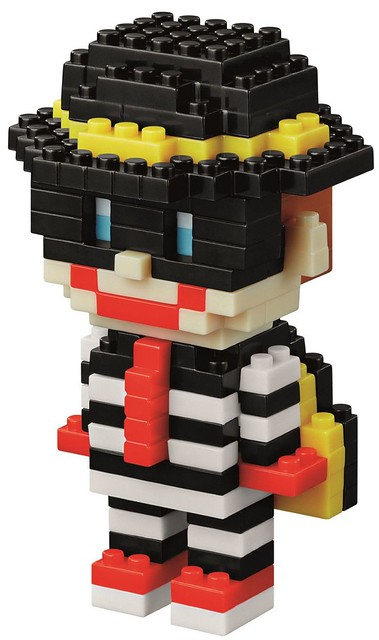 積木角色真可愛啊!香港《麥當勞》x nanoblock Ronald & Friends