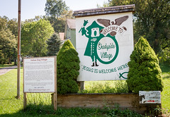 Entrance to Yellow Dog Village