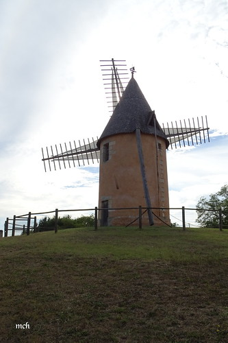 Moulin du Grand Puy à Lansac
