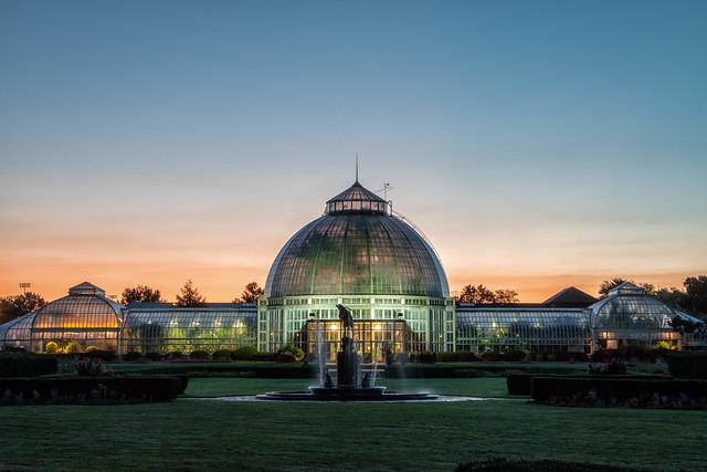 Conservatory Sunrise