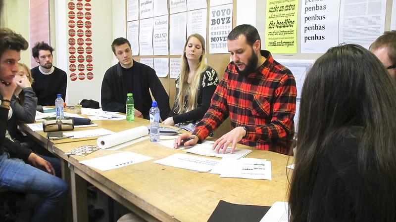 Ken Barber's workshop at t]m