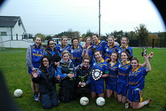 U16 Girls Winners 2012