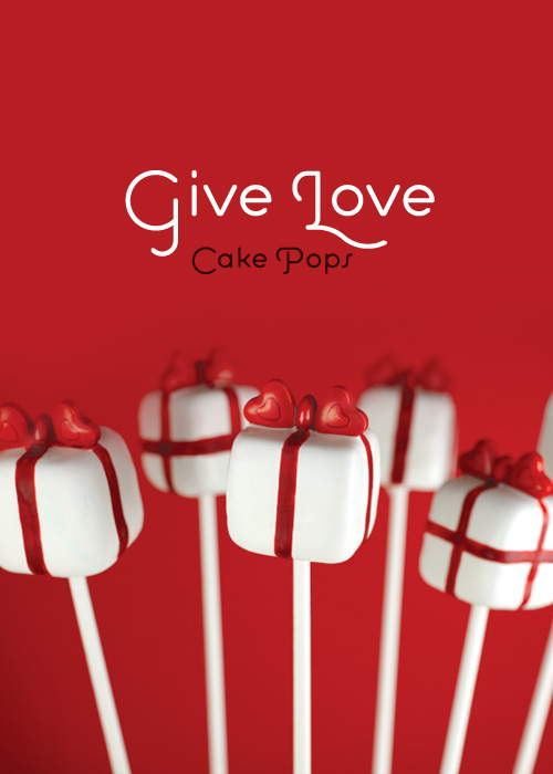 Give Love Cake Pops
