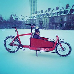 Winter Wonderland. #vikingbiking #copenhagen #bullitt @larryvsharry