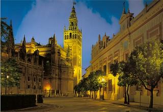 Fiesta en Sevilla.