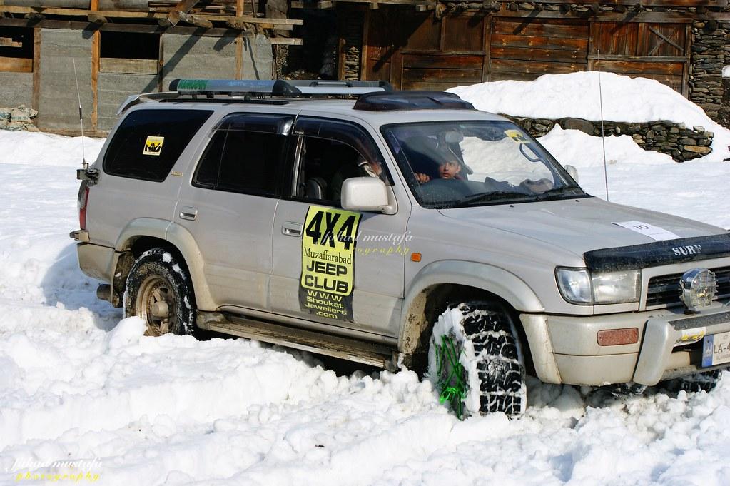 Muzaffarabad Jeep Club Neelum Snow Cross - 8470936079 9121d06e30 b