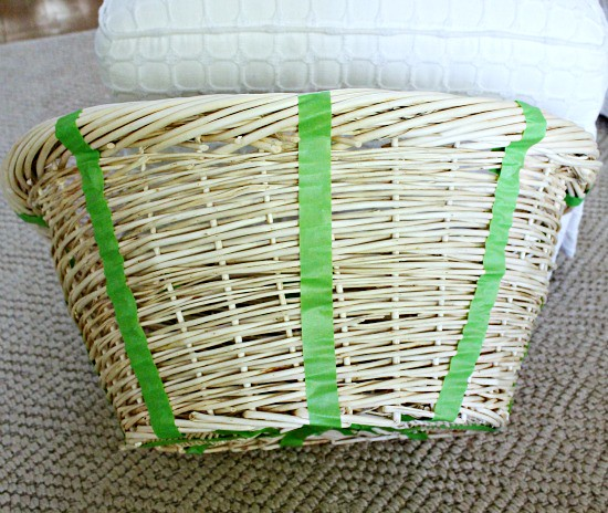 Hi Sugarplum | Herringbone Basket