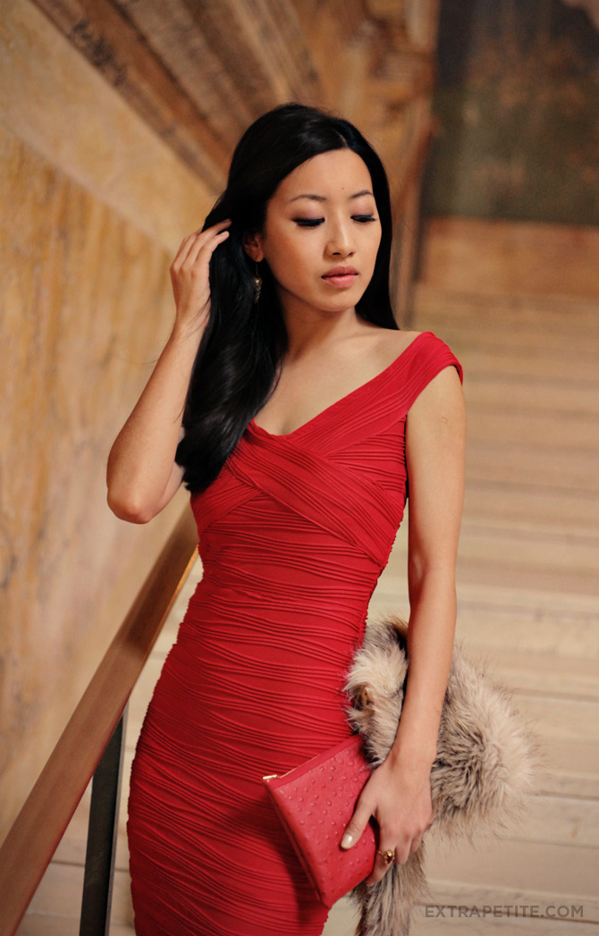 asos red dress boston public library1