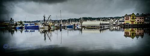canada water boat waterfront britishcolumbia vancouverisland febuary portalberni d800 2013 harbourquay tameron28mmf25