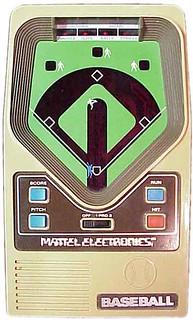 Mattel Electronics Baseball