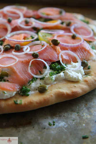 Bagel n' Lox Pizza