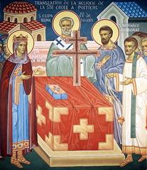 Translation de la relique de la Sainte Croix à Poitiers