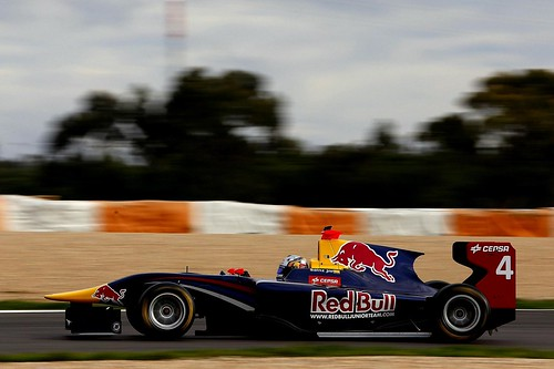 Carlos Sainz Jr Test GP3 Estoril