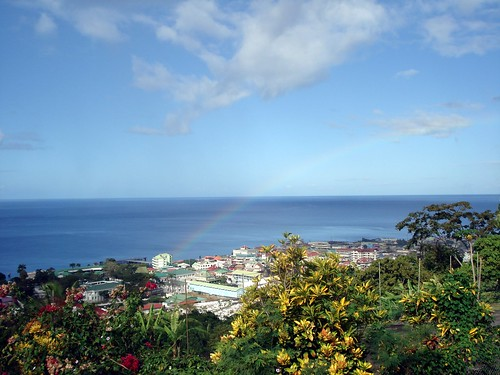 rainbow caribbean antilles dominica roseau