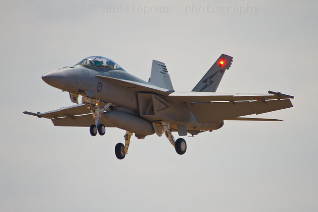 RAAF F-18F Super Hornet Avalon Air Show