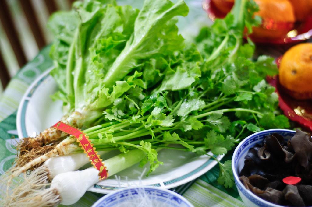 生菜(芹,蒜,葱)
