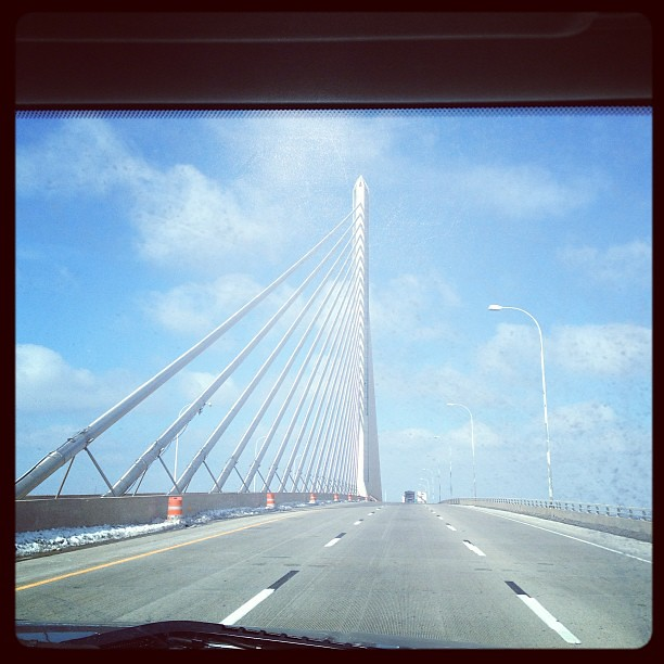 Great day for a road trip wo the kids! #toledo #bridge #roadtrip