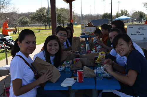 The Project 2013: Eating lunch