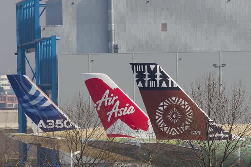 F-WW?? // DQ-??? Air Pacific Airbus A330-243 - cn 1416 ////  F-WW?? // 9M-??? AirAsia X Airbus A330-343X - cn 1411 //// F-WXWB(?) Airbus A350-941- cn 0001