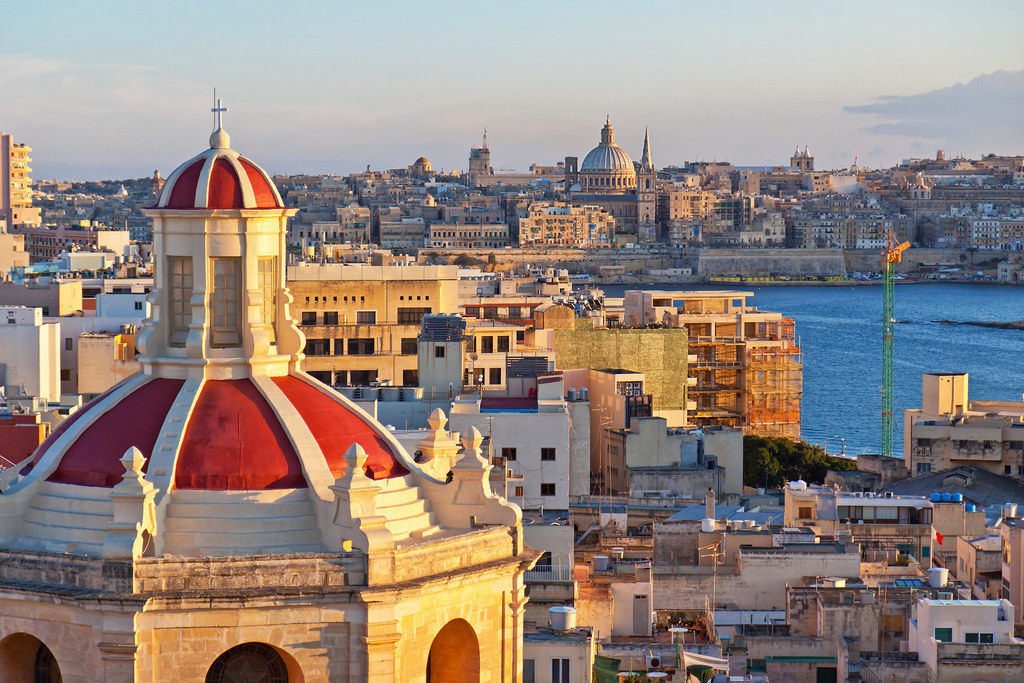 View from The Palace over Valletta