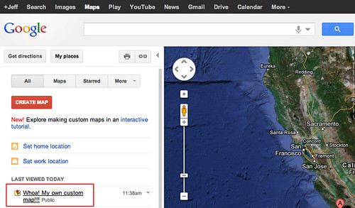make a custom google map 5