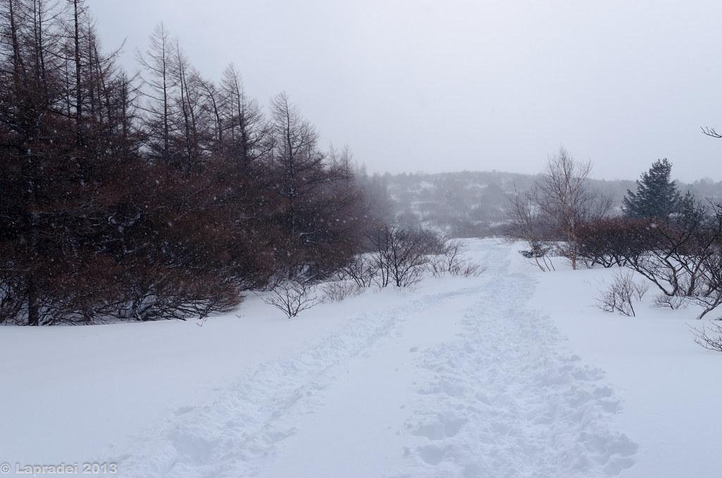 20130210 安達太良山周回コース