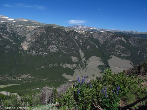 The Hellroaring Plateau (east end), Vista Point on the Beartooth Highway, Custer National Forest, Montana