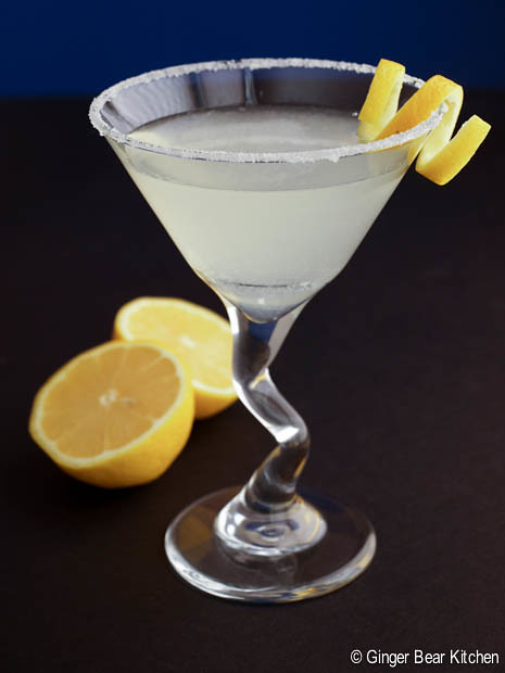 lemon drop martini | ginger bear kitchen