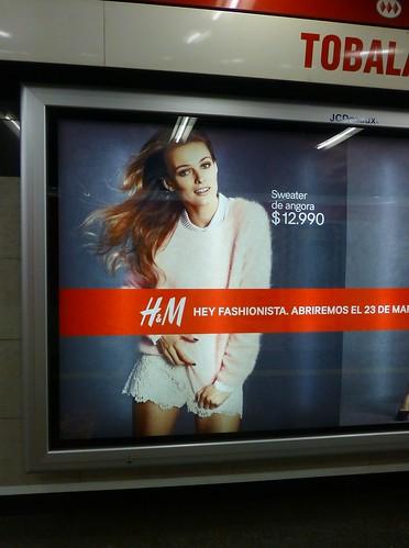 H&M llega el 23 de marzo al Costanera Center by RiveraNotario