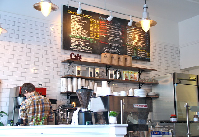 Neihborhood's Coffee and Crepes in Fenway