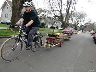 Ryan Rides Some Lumber
