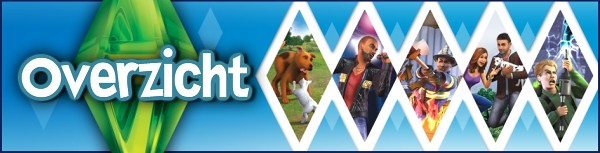 De Sims 3 overzichtpagina