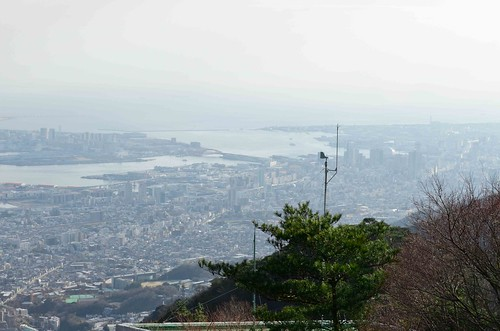 Kobe from atop Mt Rokko