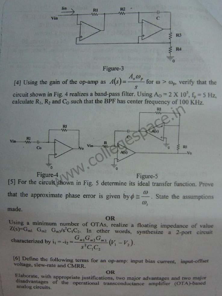 NSIT Question Papers 2012 – 5 Semester - Mid Sem - EC-COE-IC-304