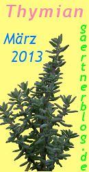 GGarten-Koch-Event M�rz 2013: Thymian [31.03.2013]