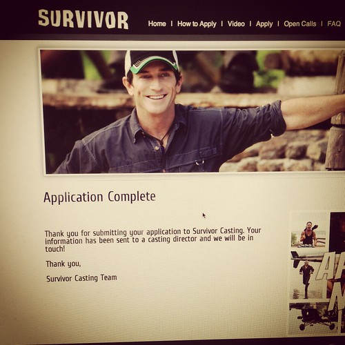 Survivor application done!
