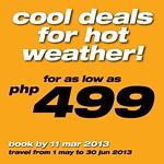 SEAIR Promo: Cheap fares from P499