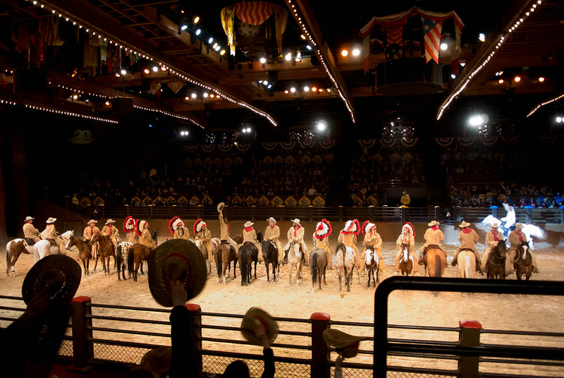 Buffalo Bill's Wild West Dinner Show Finale