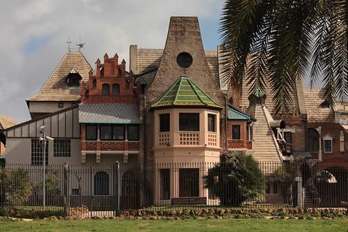 Villa Torlonia: casetta delle civette