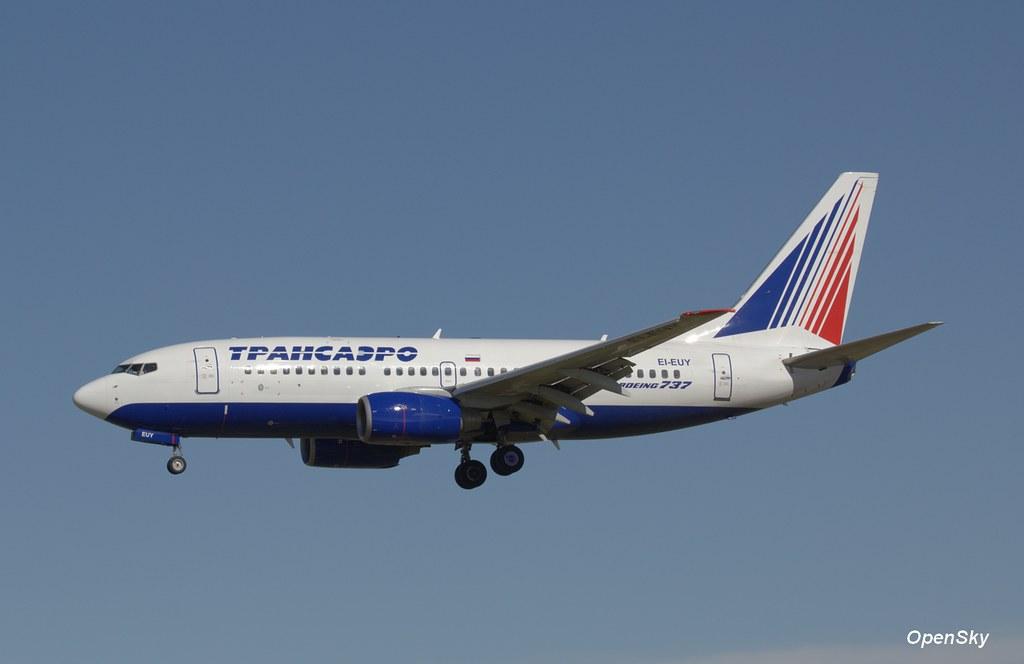 Transaero Airlines Boeing 737-7Q8 EI-EUY (cn 29354)