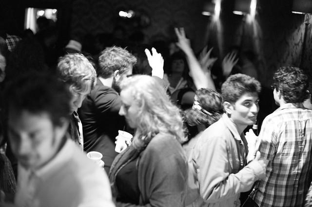 The Media Lab Underground Party Dance Floor