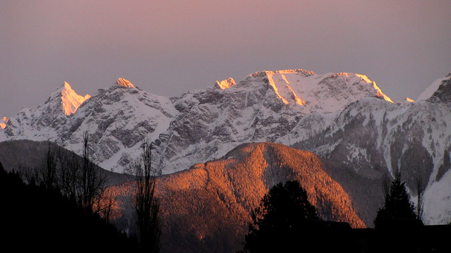 Cheam Range Alpenglow - Welch to Knight