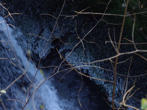 Ice crystals at Stock Ghyll Force
