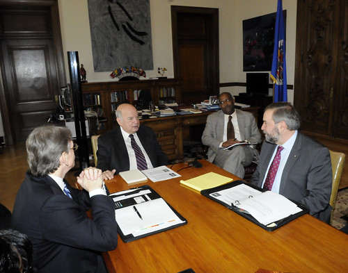 OAS Secretary General Meets with Leader of the Opposition of Canada