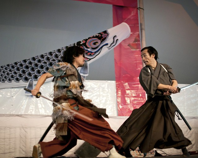 Samurai Sword Soul at Sakura Matsuri. Photo by Mike Ratliff.