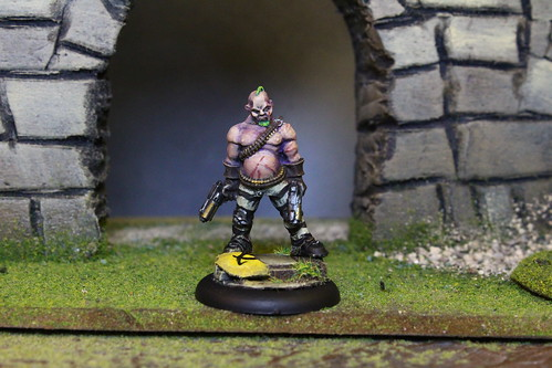 Neverborn figures from the Malifaux War Game and Wyrd miniatures