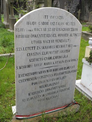 Feriköy temető - Hajdu Gábor