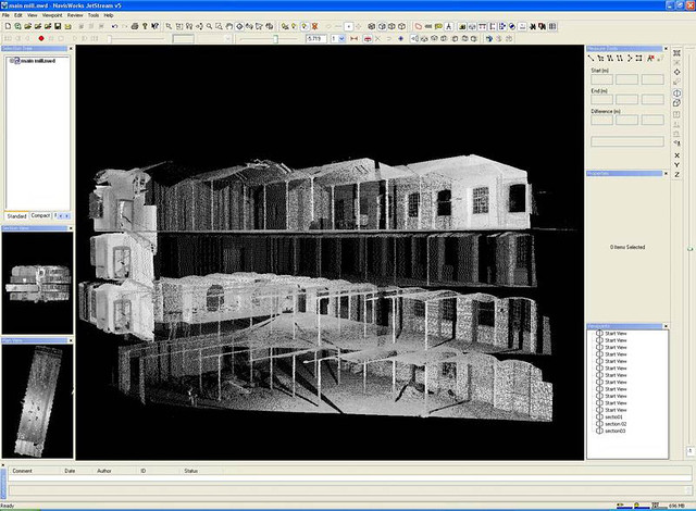 Pointcloud data for Tean Mill