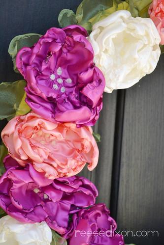 Tutorial Singed Flower Wreath Reese Dixon