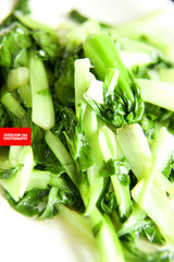 Stir-Fried Fresh Green Cabbage (清炒鸡毛菜)